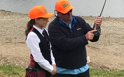 Junior Macnab Challenge at the GWCT Scottish Game Fair, Scone Palace 29th June – 1st July 2018