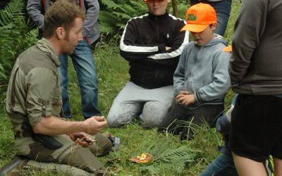 Introduction to Bushcraft Day, Trochry, Perthshire