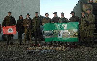 Young Shots' Day at Kinblethmont, near Arbroath