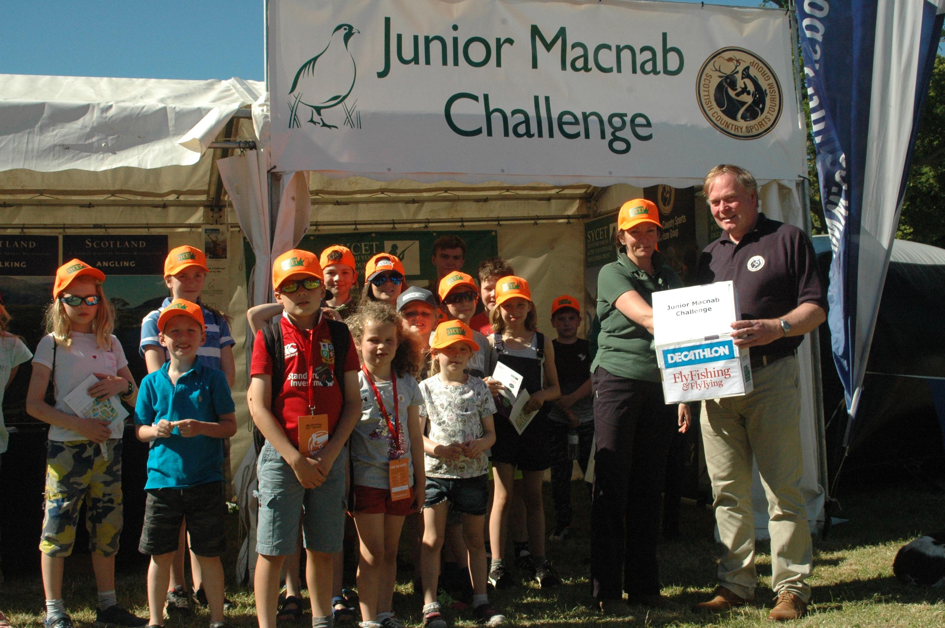 SYCET Sponsoring the Junior Macnab Challenge for 2019
