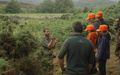 Introduction to Bushcraft Day, Forest of Birse Kirk, Aberdeenshire